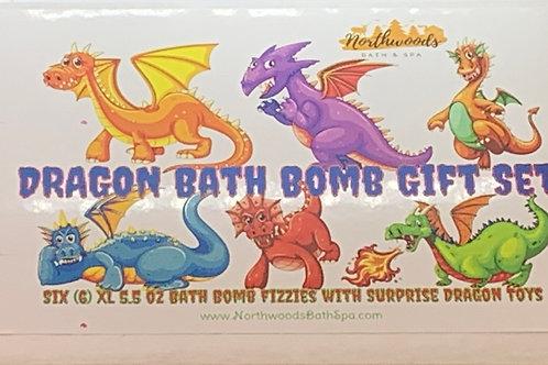 Dragon 6-pack Bath Bomb Gift Set