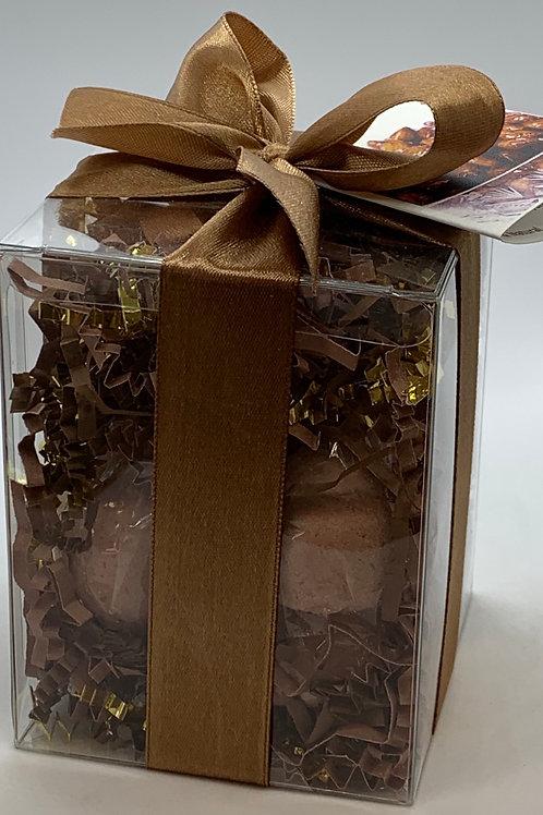 Honey Almond 7-pack Bath Bomb Gift Set (b)