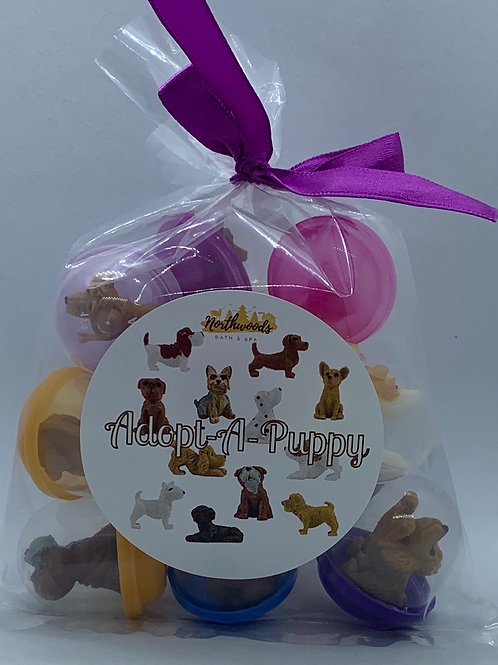 Adopt-A-Puppy Toys - Set of 12