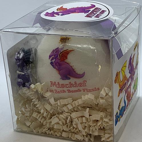 "Dragon ""Mischief"" XL 5.5 oz Bath Bomb Gift Set"