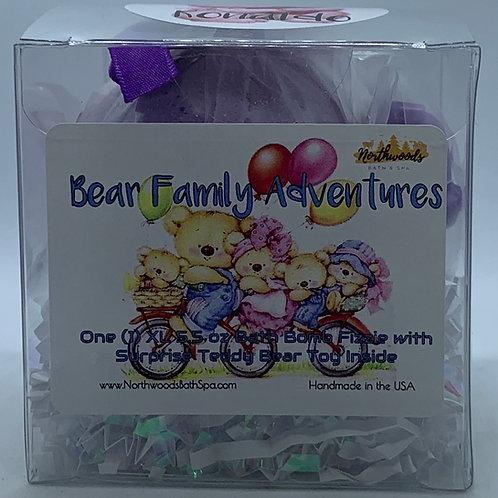 """Ronaldo"" Bear Family Adventures (Grape) 5.5 oz Bath Bomb Gift Set"