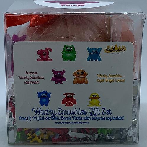 Wacky Smushies (Fangs) 5.5 oz Bath Bomb Gift Set