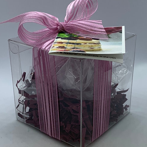 Black Raspberry Vanilla 5.5 oz Bath Bomb Gift Set (c)