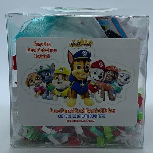 "Paw Patrol ""Snow Plow"" XL 5.5 oz Bath Bomb Gift Set"