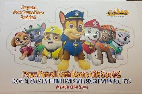 Paw Patrol 6-pack Bath Bomb Gift Set (#2)