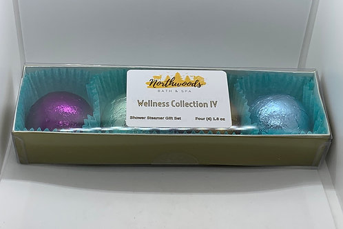 Wellness Collection IV 4-pack Shower Steamer Gift Set