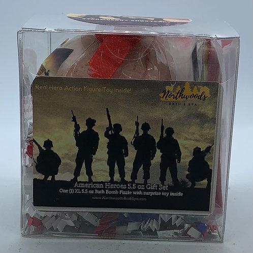 American Heroes (Strawberry Shortcake) 5.5 oz Bath Bomb Gift Set