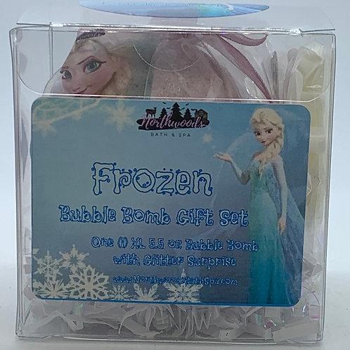"Frozen ""Enchanted"" 5.5 oz Bubble Bomb Gift Set"