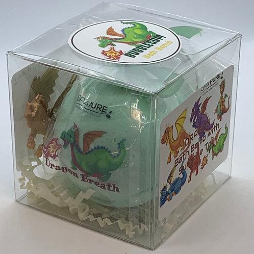 """Dragon """"Dragon Breath"""" XL 5.5 oz Bath Bomb Gift Set"""