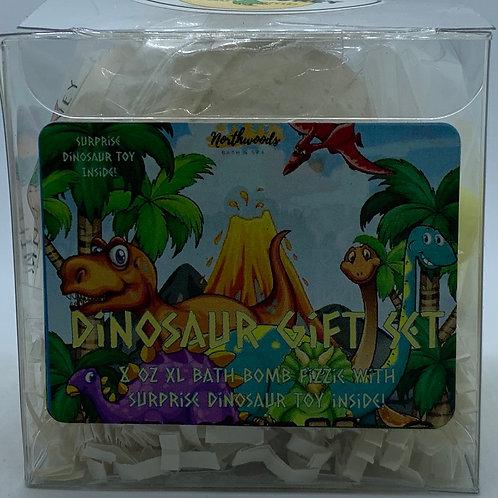 Colossal Dinosaur (Milk & Honey) XXL 8 oz Bath Bomb Gift Set