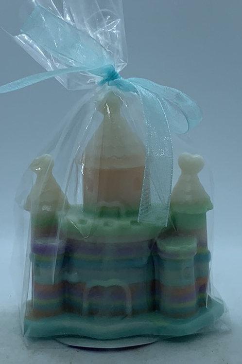 "Rainbow Castle 2 oz ""Celestial"" Soap (blue, green, orange, pink, purple, yellow)"