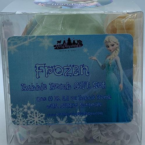 "Frozen ""Mandarin"" 5.5 oz Bubble Bomb Gift Set"