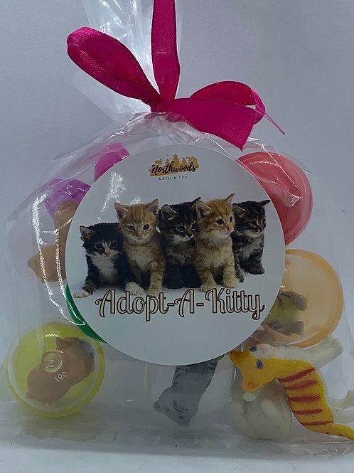 Adopt-A-Kitty Toys - Set of 10
