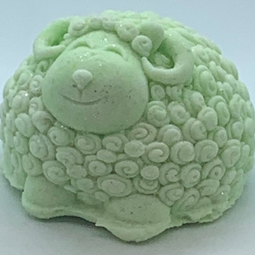 Lime Freeze 6 oz Sheep Bath Bomb Fizzie