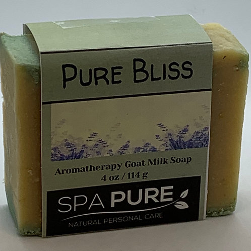 Pure Bliss Aromatherapy Goat Milk Soap