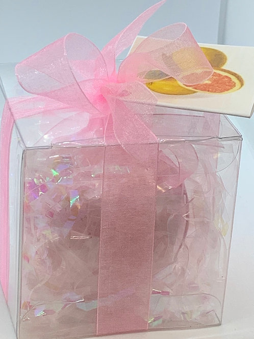 Pink Grapefruit and Citrus 5.5 oz Bath Bomb Gift Set