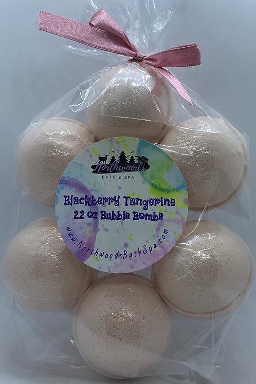 Blackberry Tangerine 7-pack Bubble Bombs