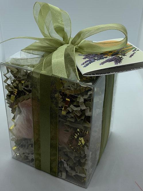 Clementine  Lavender 7-pack Bath Bomb Gift Set (b)