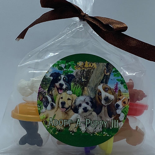 Adopt-A-Puppy III Toys - Set of 6