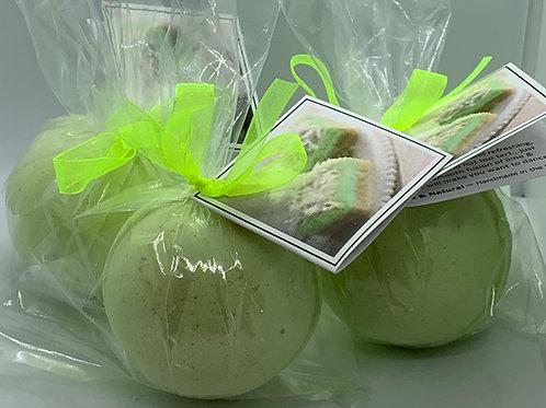 Coconut Lime - Three (3) XL 5.5 oz Bath Bomb Fizzies