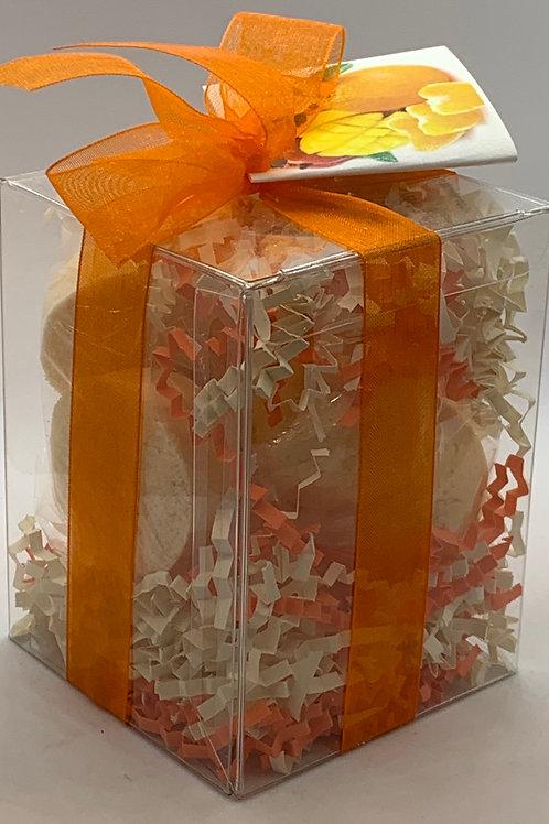 Mango Mandarin 7-pack Bath Bomb Gift Set
