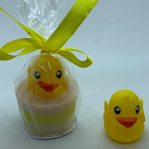 """Water Squirter """"Rubber Duckie"""" 1.3 oz Jelly Bean Soap"""