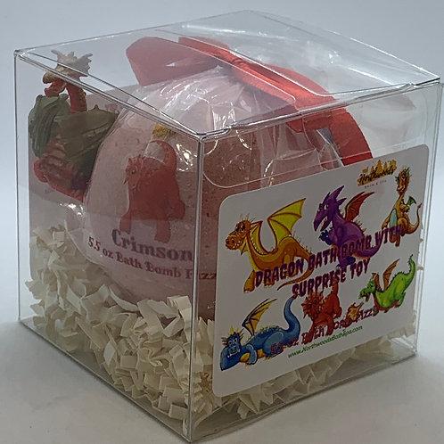 "Dragon ""Crimson"" XL 5.5 oz Bath Bomb Gift Set"