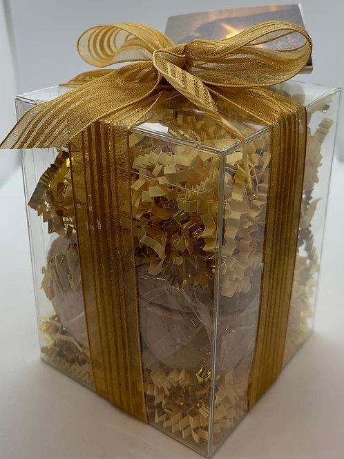 Amber Romance 7-pack Bath Bomb Gift Set