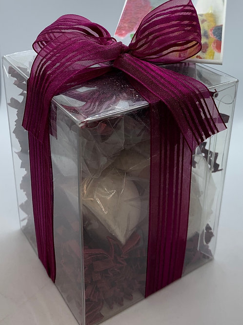 Black Raspberry Vanilla 7-pack Bath Bomb Gift Set