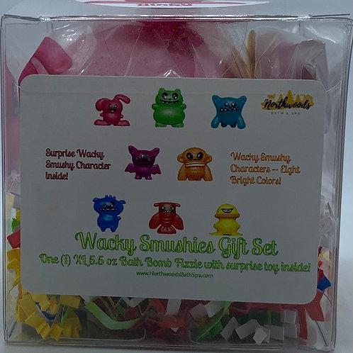 Wacky Smushies (Binky) 5.5 oz Bath Bomb Gift Set