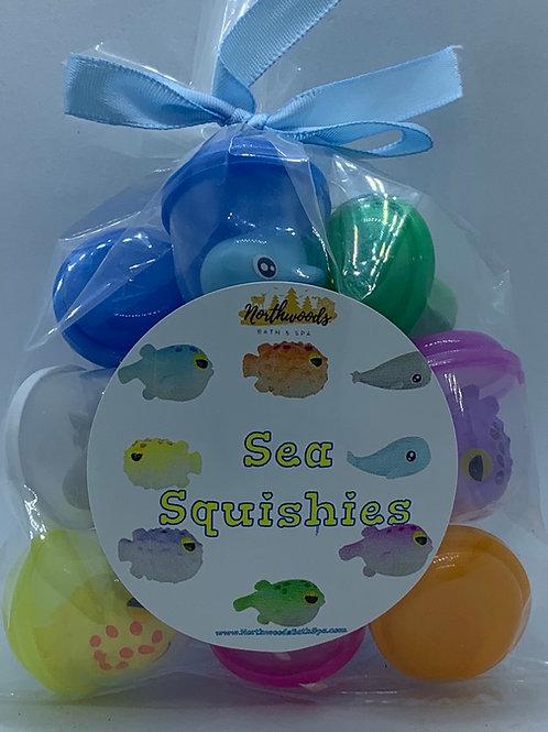 Sea Squishies Toys - Set of 12