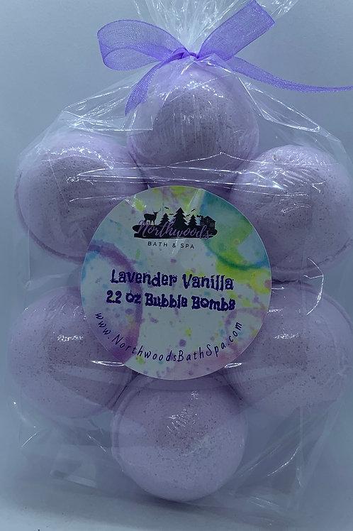Lavender Vanilla 7-pack Bubble Bombs
