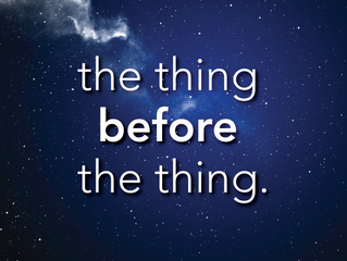 """THE THING BEFORE THE THING"" INDIEGOGO CAMPAIGN SUCCEEDS! FILMING BEGINS!"