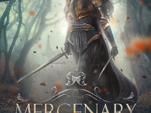 🎉 Book Birthday - Mercenary! 🎉