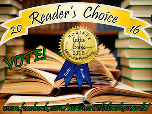 Please vote - 2016 Summer Indie Book Awards!