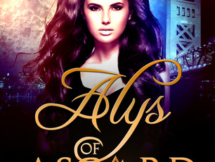 🎉 Book Birthday - Alys of Asgard! 🎉