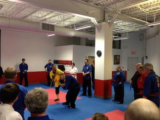 Shaolin awakening meditation Seminar With Master Shi Yanxu -Steve DeMasco's Shaolin Studios
