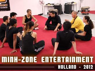 seminar in Europe-2012 Master Yan Xu lectured the Shaolin Kung Fu seminar in Europe.