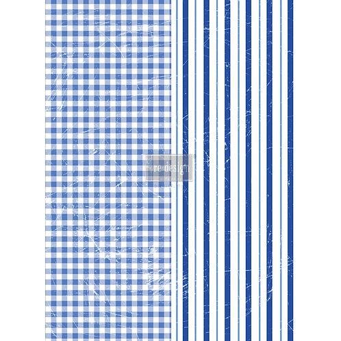 Decor Transfer-Gingham & Stripes