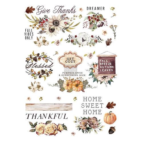 Decor Transfer-Thankful Autumn