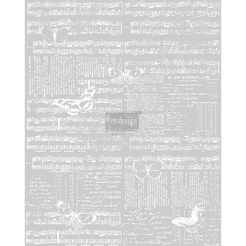 Decor Transfer-Music & the Butterflies