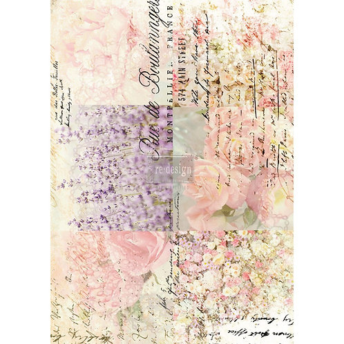 Decor Transfer-Floral Gardens