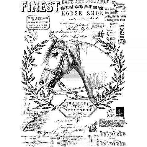 Decor Transfer-Fine Horsemen