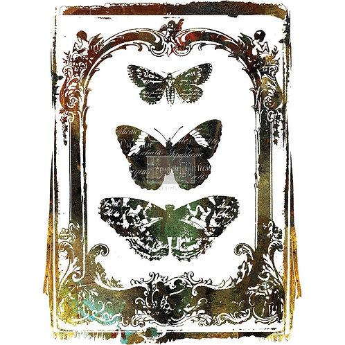 Decor Transfer-Butterfly Frame