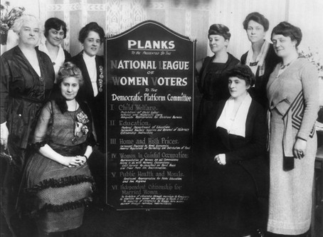 League of Women Voters turns 100
