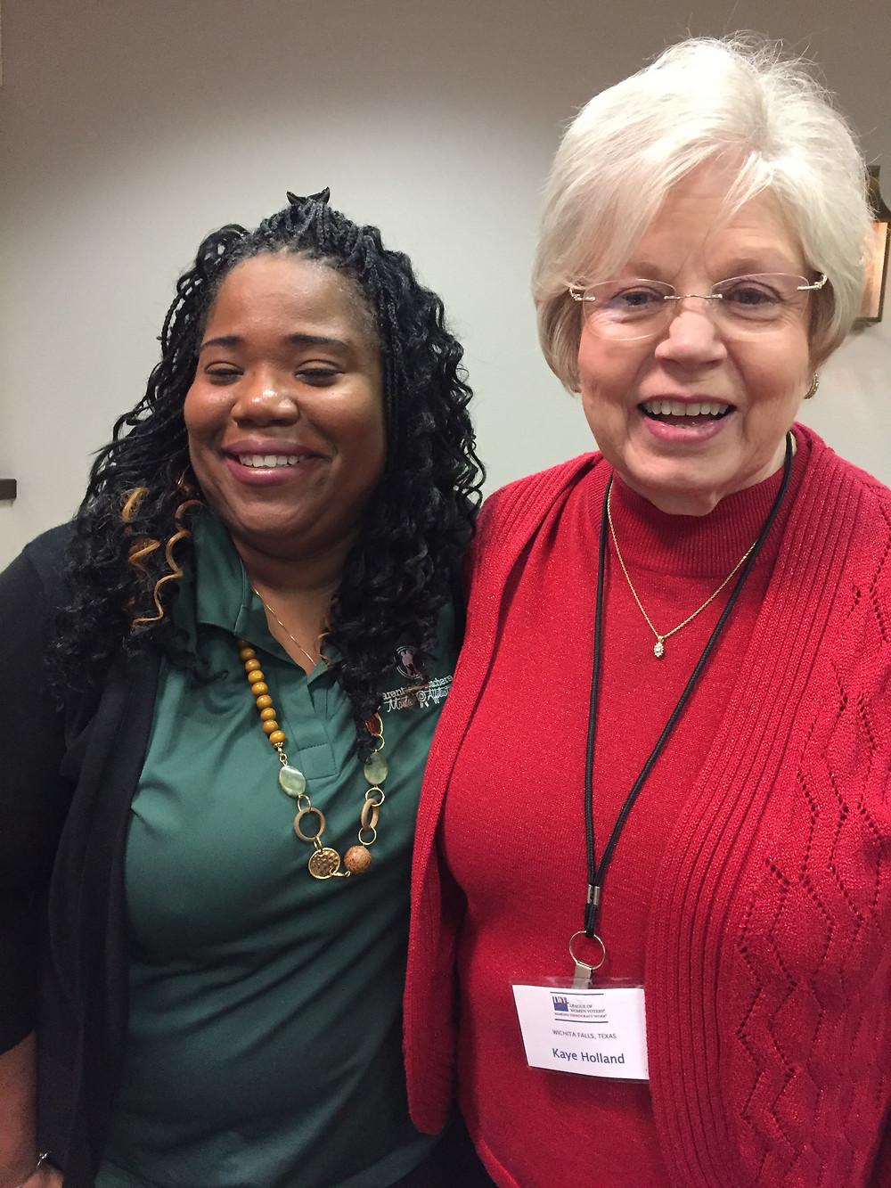 Kaye Holland League of Women Voters Wichita Falls