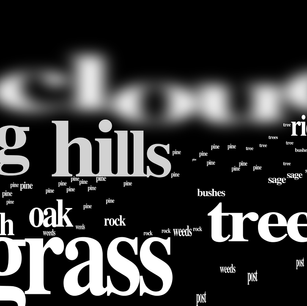 text landscape panorama