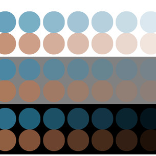 Tonal Examination of Complementary Color Average