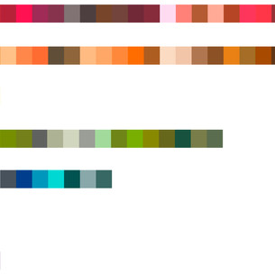 Color Distribution in Location