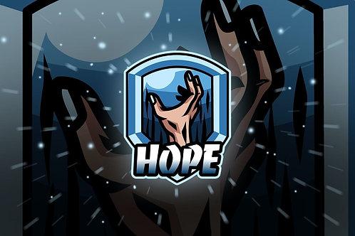 紀念匙扣 希望之手